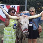Carolyn and Cheryl enjoying Houston Hospitality