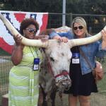 Carolyn and Cheryl enjoying Houston Hospitality